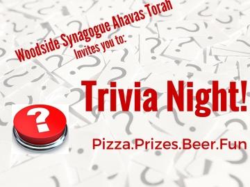 Trivia Night – Feb 20th @8pm